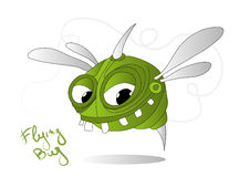 Flying bug Royalty Free Stock Photo