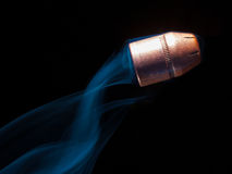 Flying bullet Royalty Free Stock Image