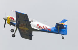 Flying Bulls Aerobatics Team on the Airshow Stock Images