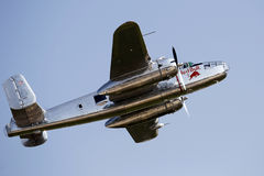 Flying Bulls B-25 Mitchell at BIAS 2013 Royalty Free Stock Images