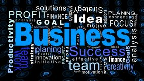 Flying business oriented words