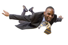 Flying Businessman Stock Photos