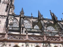 Flying buttress Royalty Free Stock Images
