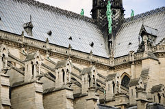 Flying buttresses Stock Images