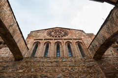 Flying buttresses in Talavera, Spain Stock Photos
