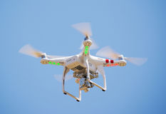 Flying camera Royalty Free Stock Photos