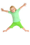 Flying child Royalty Free Stock Image