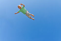 Flying child Stock Photos