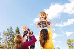 Flying Children Stock Images