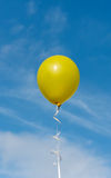Flying colorful balloons Royalty Free Stock Photography