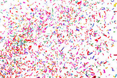 Flying colorful ribbon Stock Photos