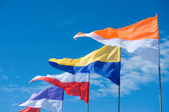 Flying colours Royalty Free Stock Photo