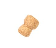 Flying cork from a champagne. Royalty Free Stock Images