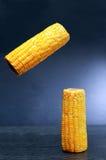 Flying Corn On Dark Royalty Free Stock Image