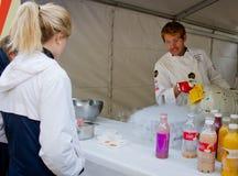 The Flying Culinary Circus at marathon , Oslo, Stock Photos