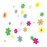 Flying Daisies Stock Photography