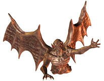 Flying demon Royalty Free Stock Photography