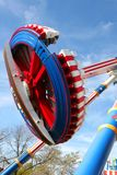 Flying Disc Roller Coaster Stock Photos