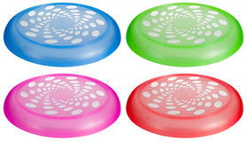 Flying Disc Toy Set Stock Photos