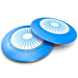Flying Disc on White 3D Illustration Stock Photography