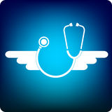 Flying doctor Stock Images