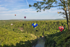 Flying Down The Gorge At Letchworth State Park Royalty Free Stock Photo