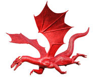 Flying dragon Royalty Free Stock Image