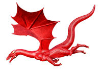 Flying dragon Royalty Free Stock Photo