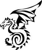 Flying dragon Royalty Free Stock Photos