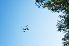 Flying drone Royalty Free Stock Image