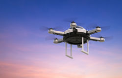 Flying drone Royalty Free Stock Images