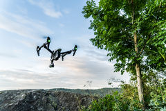 Flying Drone Royalty Free Stock Photography