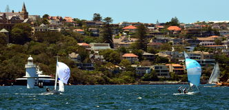 Flying-Dutchman-Weltmeisterschaft 2015, Sydney Stockfotos