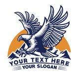 Flying eagle design. Vector of flying eagle design vector illustration