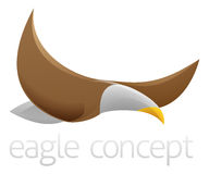 Flying eagle design Royalty Free Stock Photos