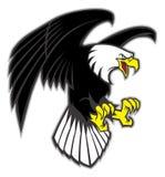 Flying eagle vector illustration