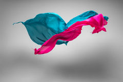 Flying fabric Royalty Free Stock Photos