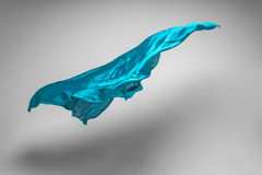 Flying fabric Stock Photo