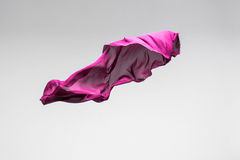 Flying fabric Royalty Free Stock Images