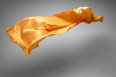 Flying fabric Royalty Free Stock Photo