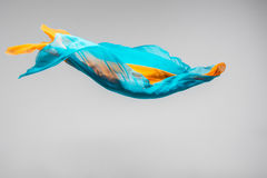Flying fabric Stock Photos