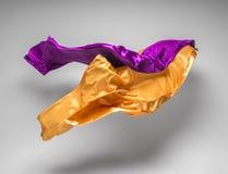 Flying fabric Stock Photo