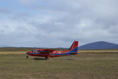 Flying in the Falkland Islands Stock Photos