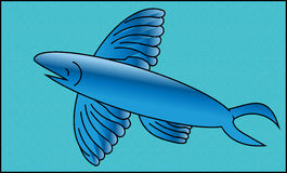 Flying fish Royalty Free Stock Photos