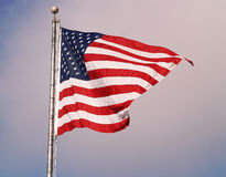 Flying Flag Stock Images