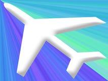 Flying flight Royalty Free Stock Photo