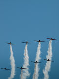 Flying In Formation Stock Images