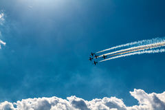 Flying In Formation Stock Photography