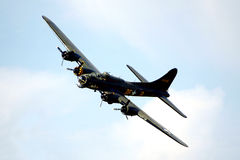 Flying fortress Royalty Free Stock Photo