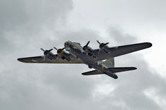 Flying Fortress bomber Stock Photos